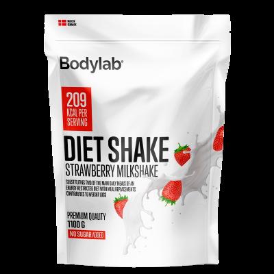 Bodylab Diet Shake Strawberry Milkshake (1100 g)