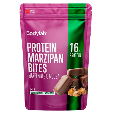 Bodylab Marzipan Bites Hazelnuts & Nougat (150 g