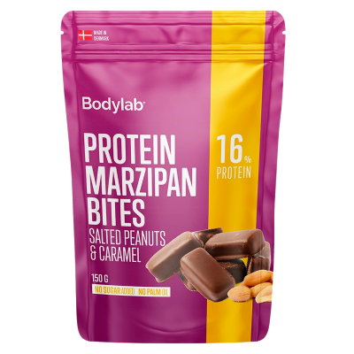 Bodylab Marzipan Bites Salted Peanuts & Caramel (150 g)