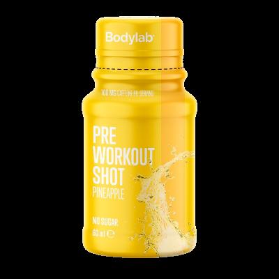 Bodylab Pre Workout Shot Pineapple (60 ml)