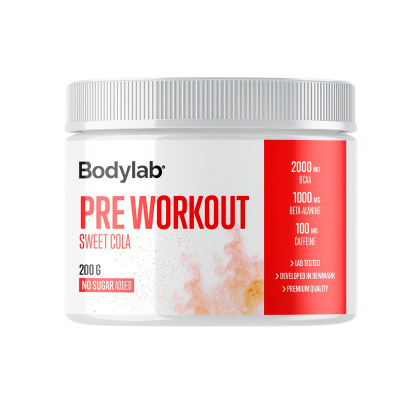 Bodylab Preworkout Sweet Cola (200 g)