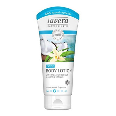 Lavera Exotic Body Lotion with Coconut & Vanilla (200 ml)