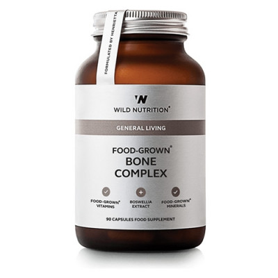 Wild Nutrition Food-Grown Bone Complex (90 kaps)