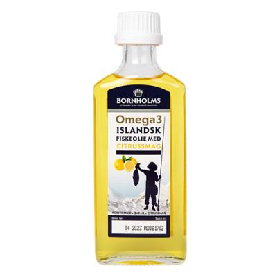 Omega 3 Islandsk Flydende Fiskeolie Lysi (240 ml)