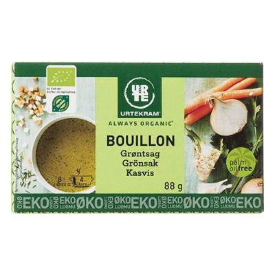 Urtekram Bouillon grøntsag Ø 8 stk a 11 g