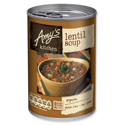 Amy's Kitchen Linsesuppe Ø