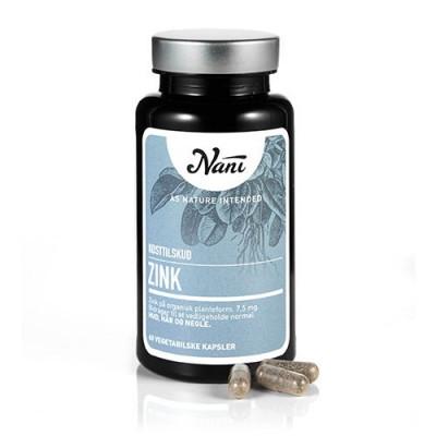 Nani Food State Zink (60 kap)