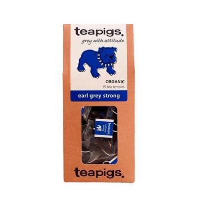 Teapigs Te Earl Grey Stærk Ø (15 br)