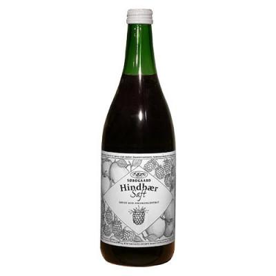 Søbogaard Hindbærsaft m. æble sød Ø