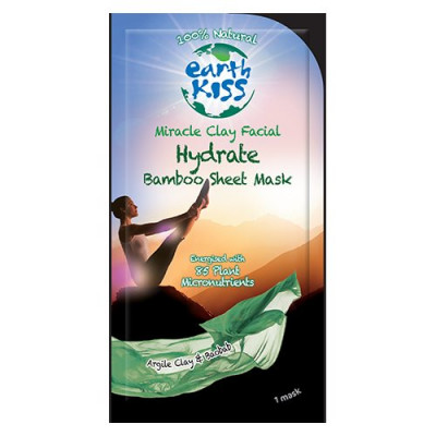 Earth Kiss Ansigtsmaske Miracle Clay Sheet Mask (17 g)