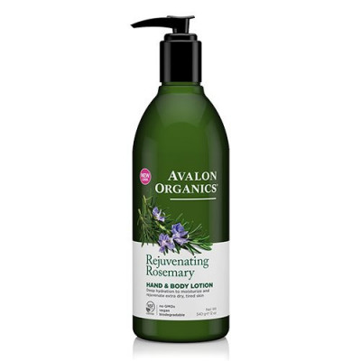 Avalon Organics Hand & Bodylotion Rosemary Rejuvenating (340 g)