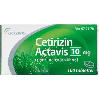 cetirizin actavis gravid