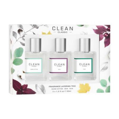 CLEAN Gaveæske Fragrance Layering Trio (90 ml)