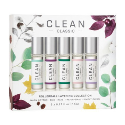 CLEAN Rollerball Layering Collection Gaveæske (5x5 ml)