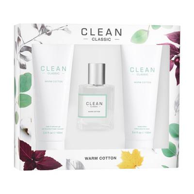 CLEAN Warm Cotton Gift Set (230 ml)