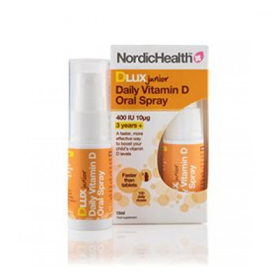 NordicHealth D3-vitamin spray til børn