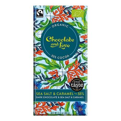 Chocolate and Love Sea Salt 55% Ø (80g)
