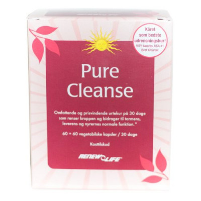 Pure Cleanse Renew Life (120 kapsler)