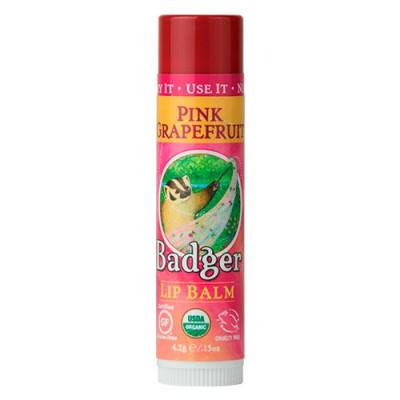 Badger Lip Balm Pink Grapefruit (4 g.)