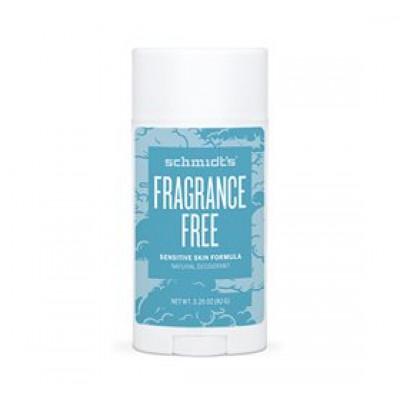 Schmidt's Deodorant stick Fragrance-Free Sensitiv hud (92 g)
