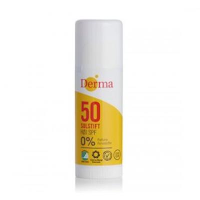 Derma Solstift Spf 50 Ekstra (15 ml)