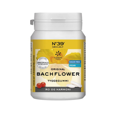 Dr. Bach Tyggegummi Nødhjælp (60 gr)