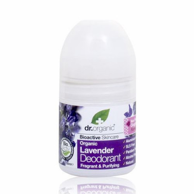 Dr. Organic Lavender Deodorant Roll-on (50 ml)