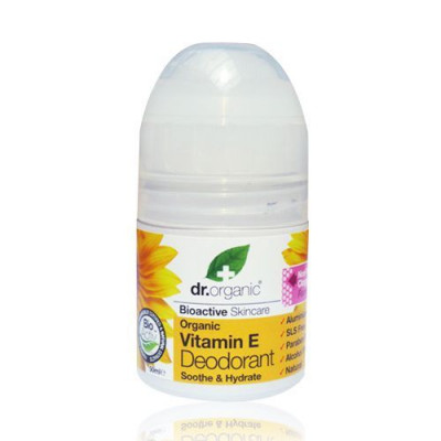 Dr. Organic Vitamin E Deodroant Roll-on (50 ml)
