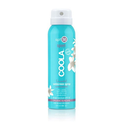 Coola Sport Continious Spray SPF50 Unscented (88 ml)