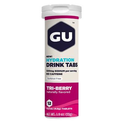 GU Hydration tabs Triberry (12 tab)
