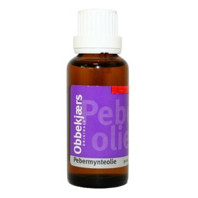 Obbekjærs Pebermynte olie (30 ml)