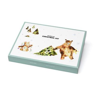Julekalender Bjørn Bland-selv koncept