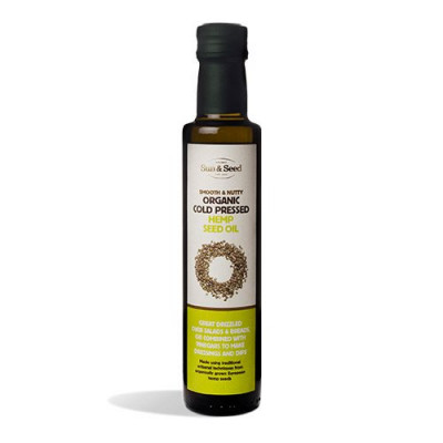 Sun & Seed Hampefrøolie koldpresset Ø (250 ml)