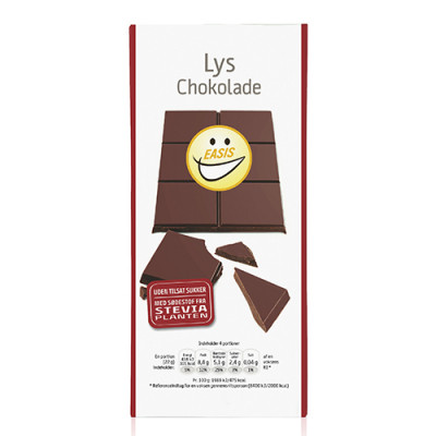 EASIS Lys Belgisk Chokolade (85 g)