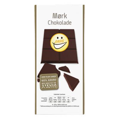 EASIS Mørk Belgisk Chokolade (85 gr)