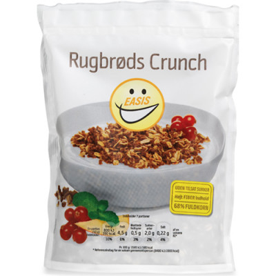 EASIS Rugbrødscrunch (350 g)