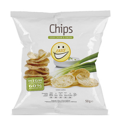 EASIS Sour Cream & Onion Chips (50 gr)