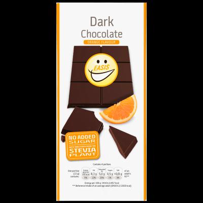 EASIS Dark Chocolate Appelsinsmag (85 g)