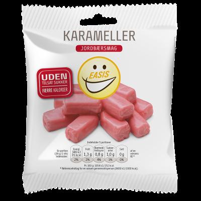 EASIS Karameller Jordbærsmag (70 g)