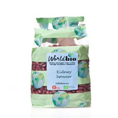 World Bio Kidneybønner Ø (650 g)