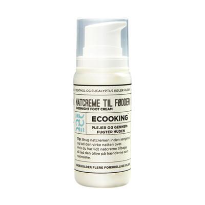 Ecooking Natcreme Til Fødder (100 ml)