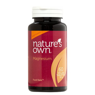 Nature's Own Magnesium Food State (60 kaps.)