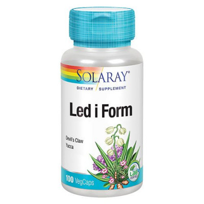 Solaray Led I Form (100 kapsler)
