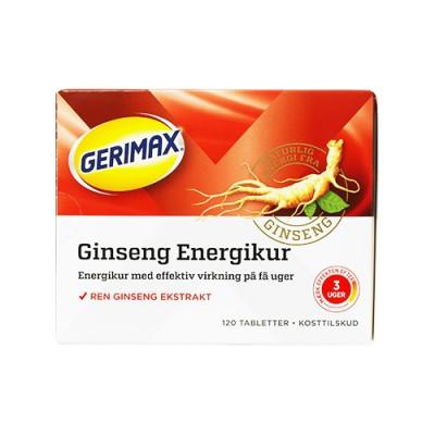Gerimax Energikur (120 stk)