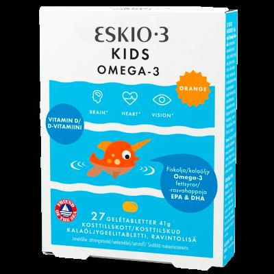 Eskio-3 Kids Chew Gele Tyggetablet (27 tab)