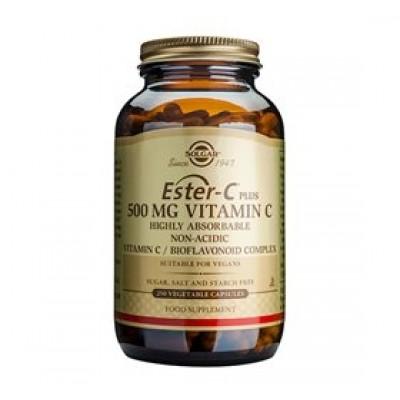 Solgar Ester C-Vitamin Plus 500 mg (250 vegicaps)