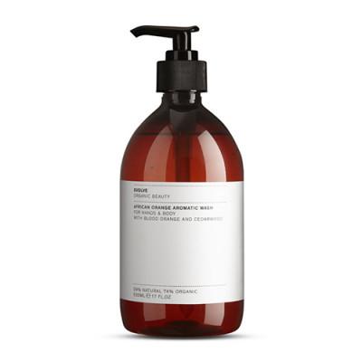 Evolve Organic Beauty African Orange Aromatic Wash - Economy Size (500 ml)