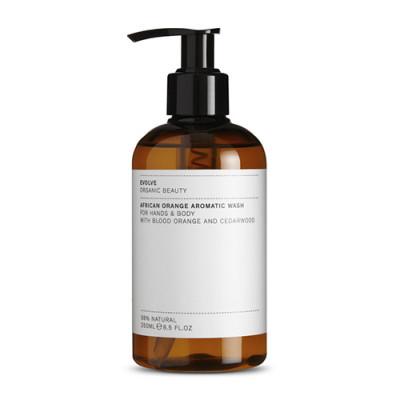 Evolve Organic Beauty African Orange Aromatic Wash (250 ml)