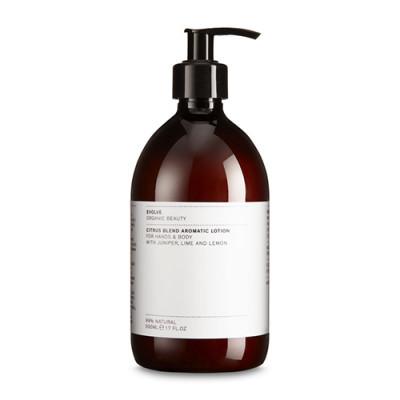 Evolve Organic Beauty Citrus Blend Aromatic Lotion - Economy Size (500 ml)