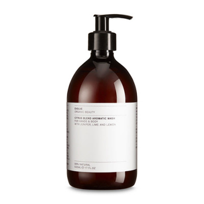 Evolve Organic Beauty Citrus Blend Aromatic Wash - Economy Size (500 ml)
